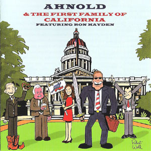 Ahnold and the first family of california CD Cover
